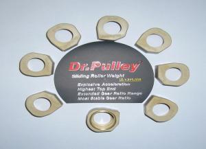 Galets Dr Pulley 17 gr pour moteur CF MOTO 500 - PiecesBuggy