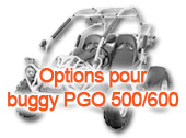 Options pour buggy PGO 500/600