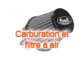 Carburation et filtre à air