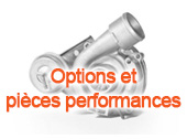 Options et pièces performances